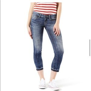 Levi's Denizen modern crop stretch jean